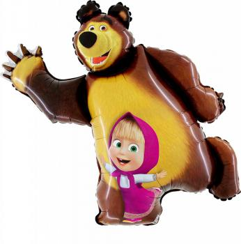 642/3 Masha and the Bear 10 Stk