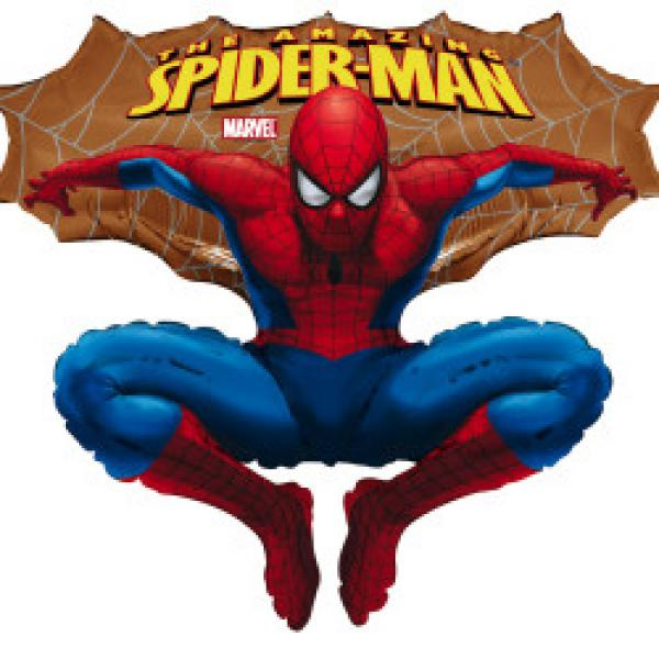 641 B Spiderman gold 10 Stk